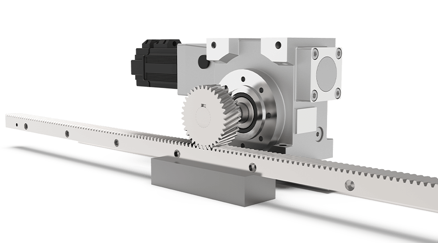 High Precision Rack and Pinion Reducer System